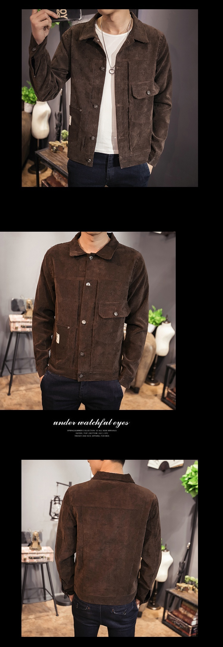 Hb859b69c1ed14f2e9f9ea7ed0e3e5ca6m Zongke Japan Style Corduroy Jacket Men Hip Hop Streetwear Men Jacket Coat Windbreaker Clothes Bomber Jacket Men 5XL 2019 New