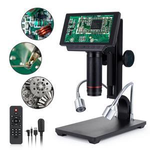 Image 1 - Andonstar cyfrowy USB/HDMI/AV mikroskop ADSM302 5 cal wyświetlacz HD PCB lutowania THT SMD SMT narzędzie oprogramowanie pomiarowe