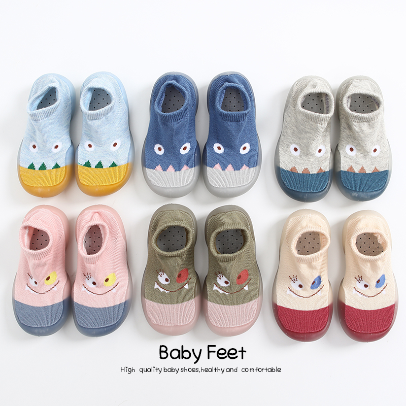 Baby Floor Shoes Spring New Arrival Baby Girl Baby Boy Sock Shoes Cute Animal Style