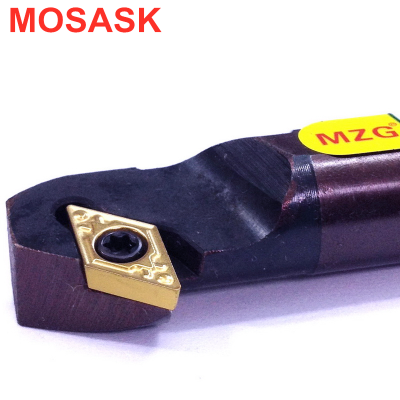 MOSASK SDZCR Machining Carbide Insert S10K-SDZCR07 Borning Bar CNC Lathe Inner Hole Turning Tools Holders