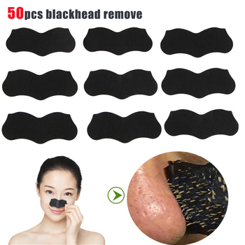 50pcs Nose Blackhead Remover Mask Pore Cleaner Acne Treatment Deep Cleasing Strips Black Head Tool - discount item  30% OFF Skin Care Tool