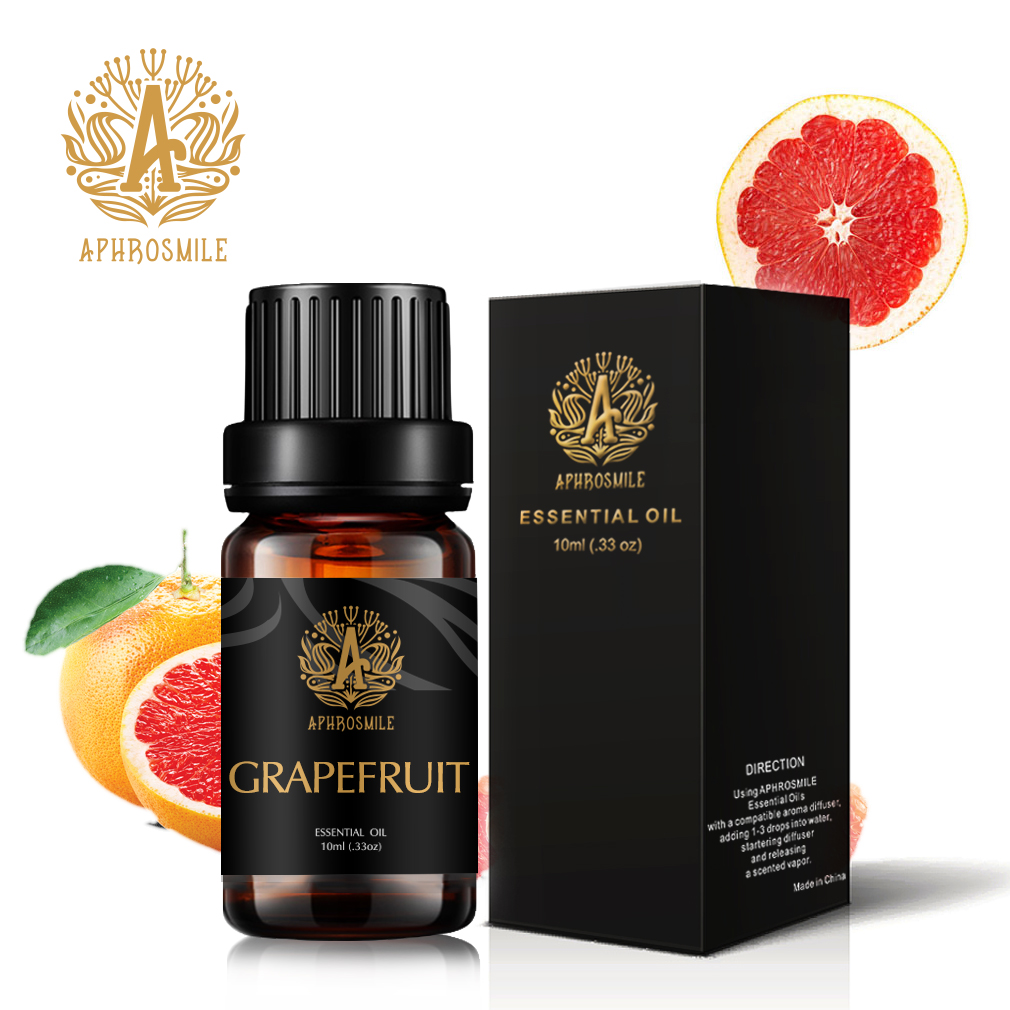 10ml Grapefruit Pure Essential Oil for Aromatherapy Diffusers Air Freshening Aromatherapy Diffusers Pure Essential Oils