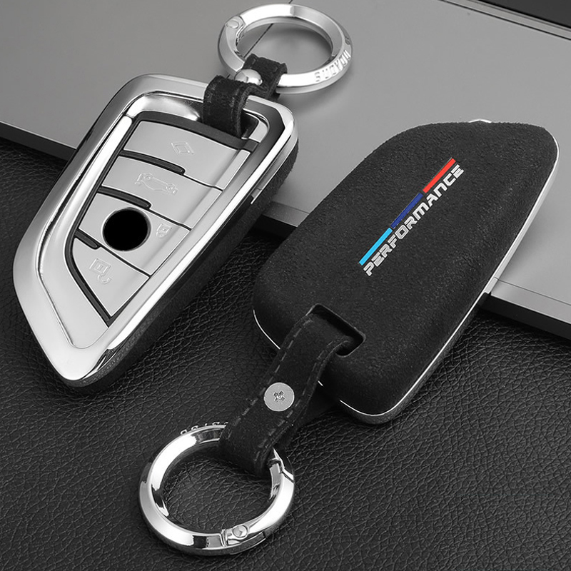 For BMW 3 4 5 6 7 serise f10 f30 f34 X1 X3 X4 X5 X6 F25 F26 F15 F16 E84 G01 G38 Car Styling Key Rings Protection Cover Stickers