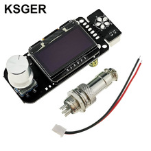 KSGER STM32 OLED  V2.01 Temperature Controller For DIY Soldering Station Kits T12 Iron Tips Electric Tools Auto Sleep Quick Heat