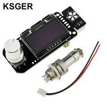 KSGER STM32 OLED V2.01 regulator temperatury do DIY stacja lutownicza zestawy T12 żelazo porady elektronarzędzia automatycznego uśpienia, szybkie ciepła