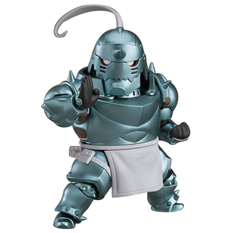 HOT 10cm JUMP Fullmetal Alchemist Anime Figures Alphonse Elric Toys Edward Elric Action Figura Collectible Model Elric Doll