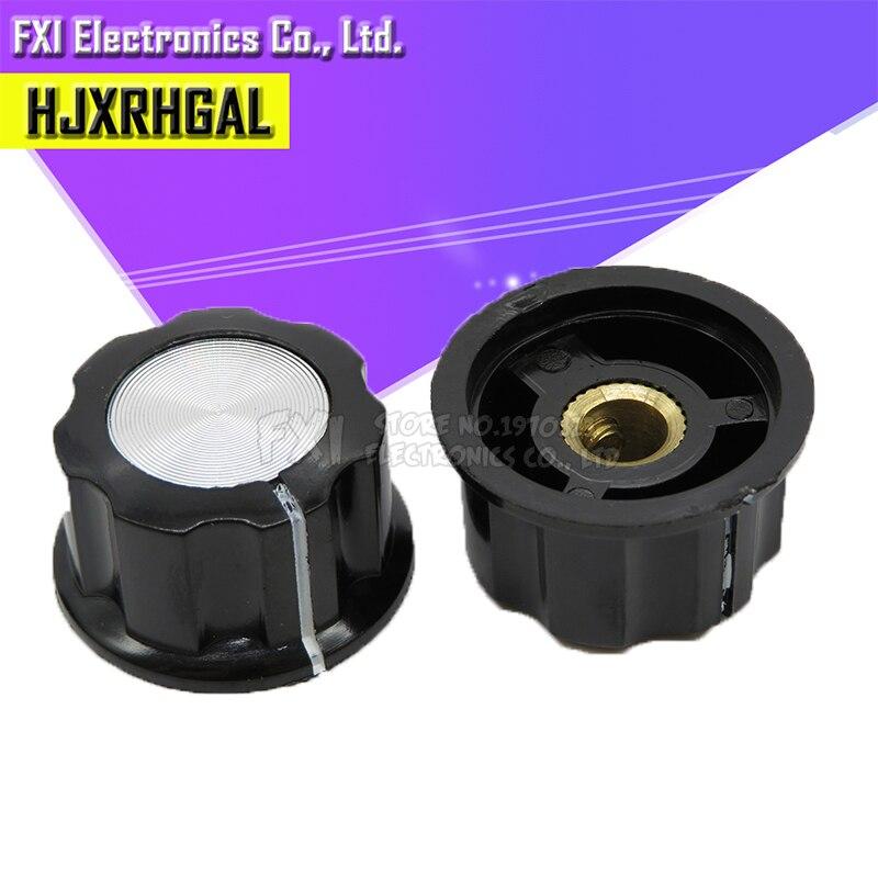5pcs Hat MF-A03 Potentiometer Knob WH118/WX050 Bakelite Knob / Copper Core Inner Hole 6mm