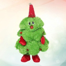 Singing-Tree-Toy Decorative Christmas-Tree Fashion Adorable for Office 1pc