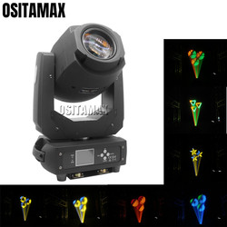 200w LED scena dyskoteki światło ruchoma głowica Spot światło powiększające 3 pryzmat Gobo kolor koła dźwięk efekt tęczy Party oświetlenie DJ ślub