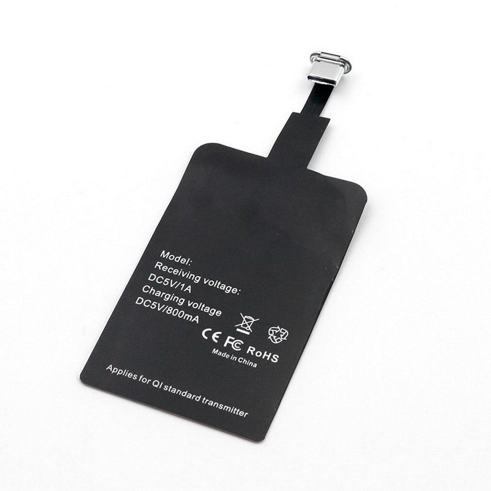 Qi Беспроводное зарядное устройство приемник зарядное устройство с ресивером Pad катушка для Lightning Dock Andriod Micro USB Type C