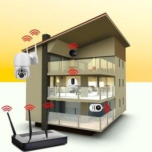 Image 2 - Wireless IP Camera CCTV Camera Security System Kit 4pcs 1080P SD Card Cloud storage Two Way Audio Home Video Surveillance Kit