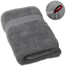 SEMAXE Luxury Bath Towel Hotel & Spa Quality Premium Bathroom Towel.Soft,Plush and Highly Absorbent Towel (Gray,1 Bath Towel)