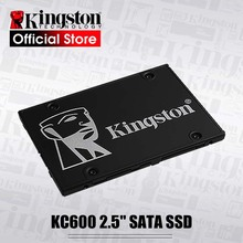 Kingston KC600 SSD 256GB 512GB 2.5 inch SATA III HDD Hard Disk HD SSD Notebook PC 1024GB