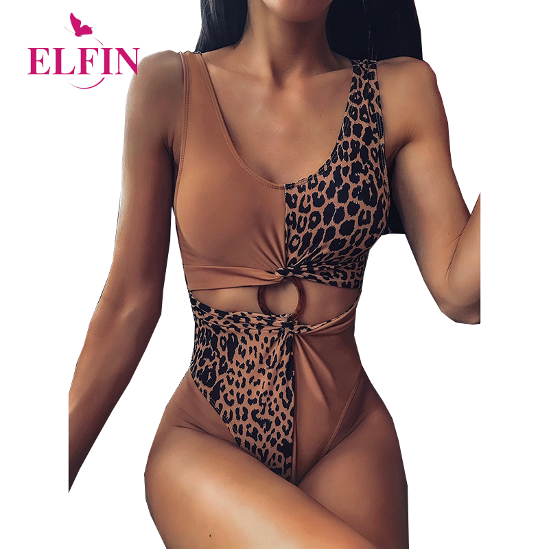 Sleeveless Sexy Leopard Jumpsuit V Neck Bodyconsuit Summer 2020 Womens Clothing SJ5066R
