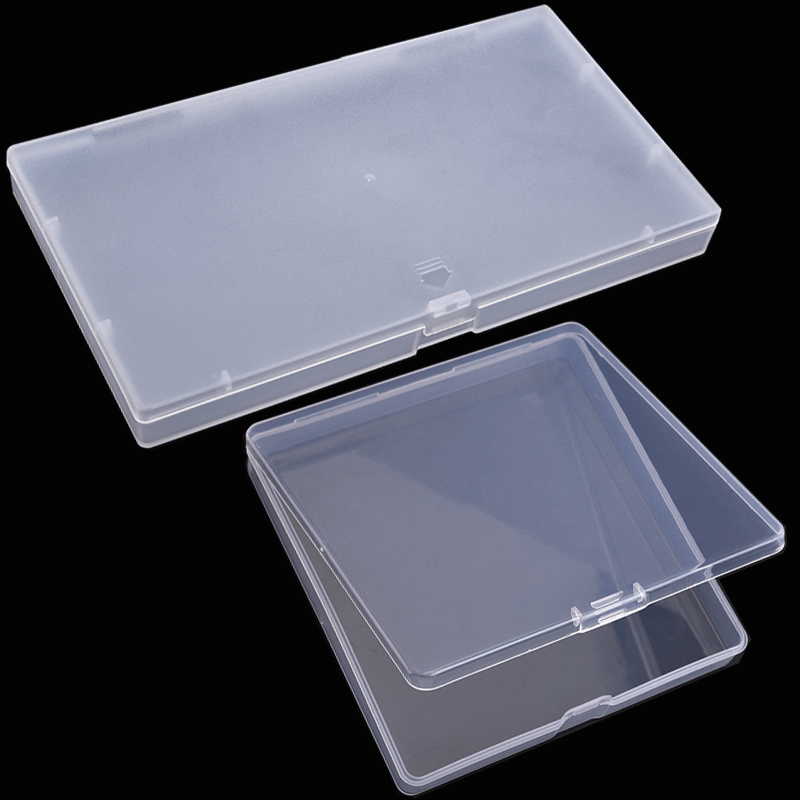 Practical Adjustable Storage Transparent Box For Jewelry Bead Rings Trifles Parts Tools Storage Plastic Case
