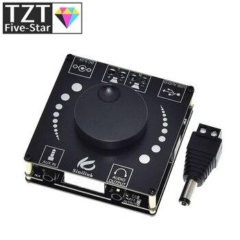 Sinilink AP50H HIFI Bluetooth 5.0 Wireless Audio TPA3116D2 Digital Power amplifier board 50Wx2 Amp Amplificador USB 3.5MM AUX