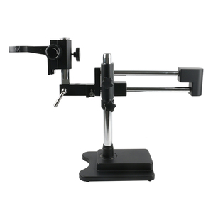 Image 5 - 3.5X 90X כפול זרוע בום Stand סטריאו Trinocular זום מיקרוסקופ עבור טלפון נייד שבב מעבד שעון תיקון תכשיטי זיהוי