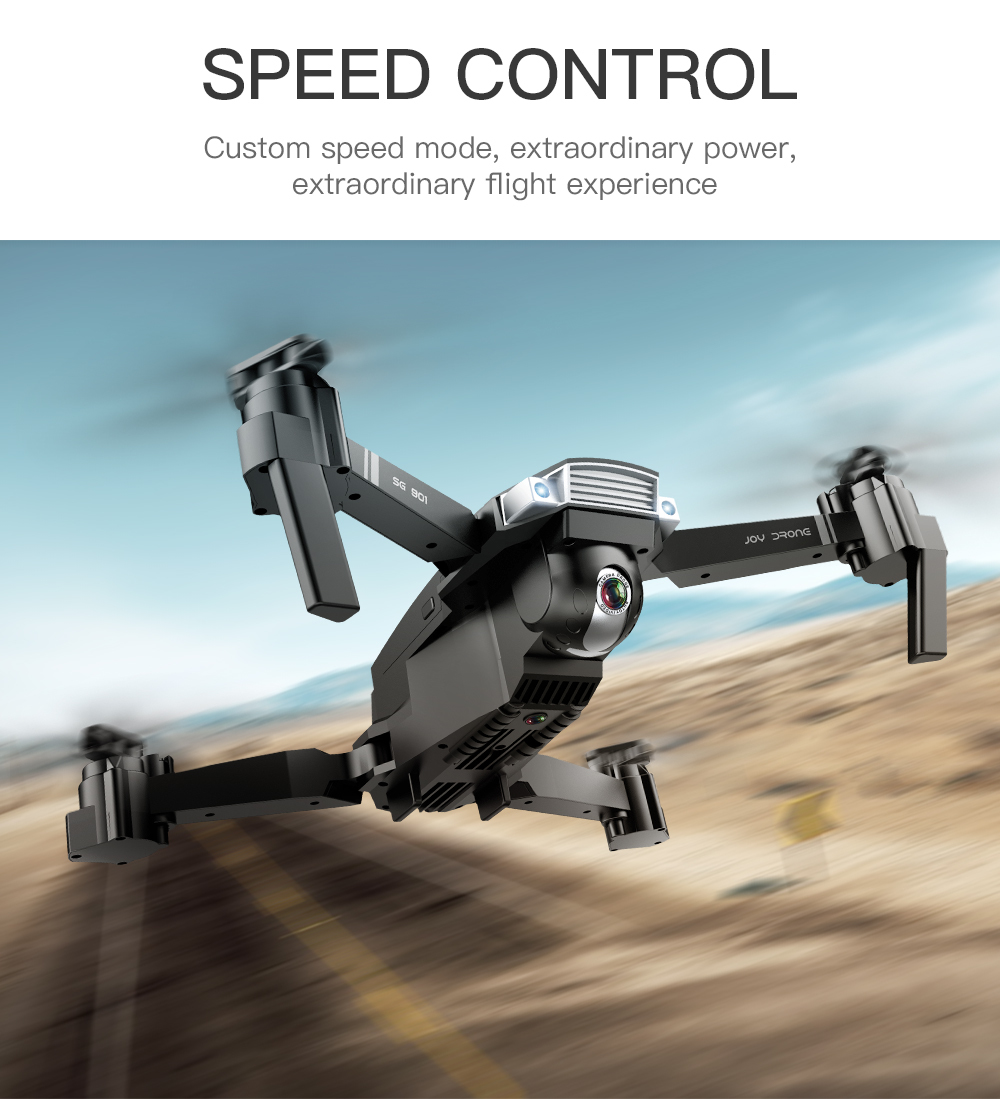 Drone SG901 4K drone HD dual camera WiFi transmission fpv optical flow 20mins long flight time Rc helicopter drone camera dron