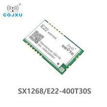 5 pièces/lot SX1268 LoRa TCXO 433MHz 30dBm E22 400T30S SMD UART émetteur récepteur sans fil IPEX trou émetteur longue portée récepteur