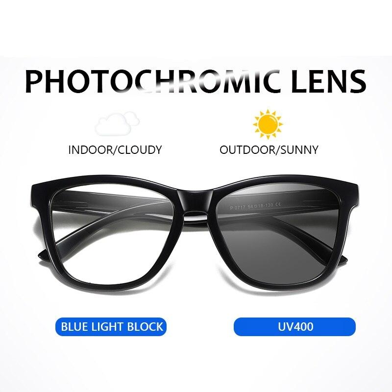 Новые фотохромные солнцезащитные очки с анти синим светильник