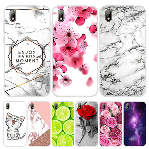 For Huawei Y5 2019 Honor 8S Case TPU Silicone Case For Huawei Y5 Y 5 2019 Honor 8S Cover Marble Case For Honor 8s 8 S Capa