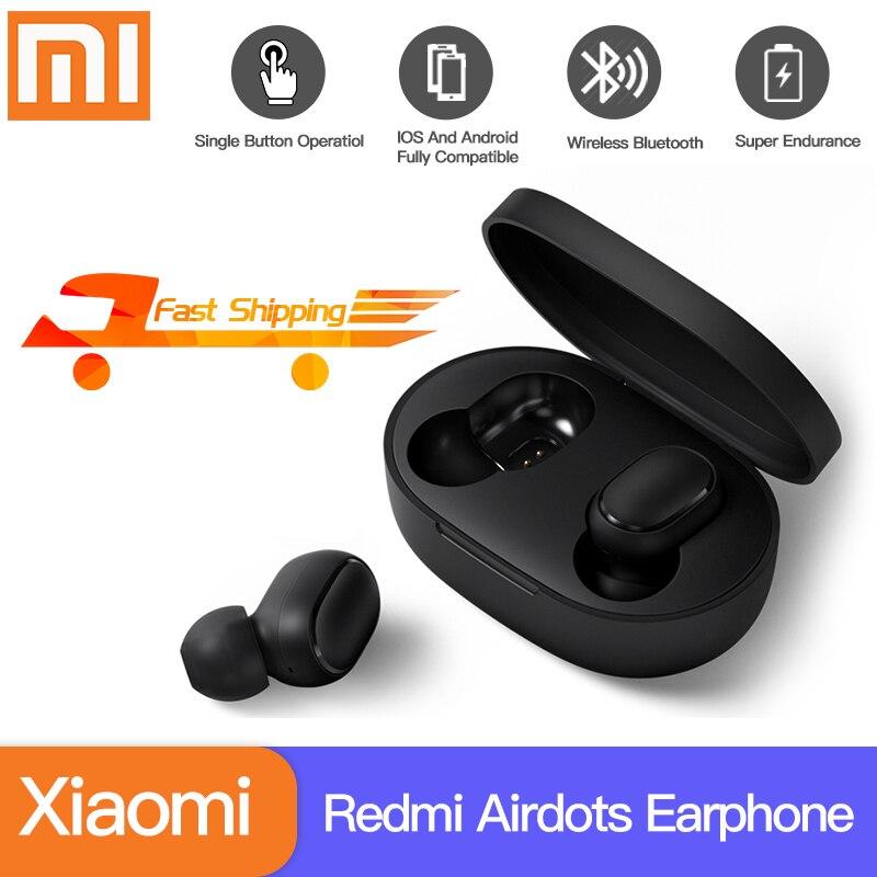 Xiaomi Redmi Airdots Xiaomi sans fil écouteur commande vocale Bluetooth 5.0 réduction du bruit contrôle du robinet