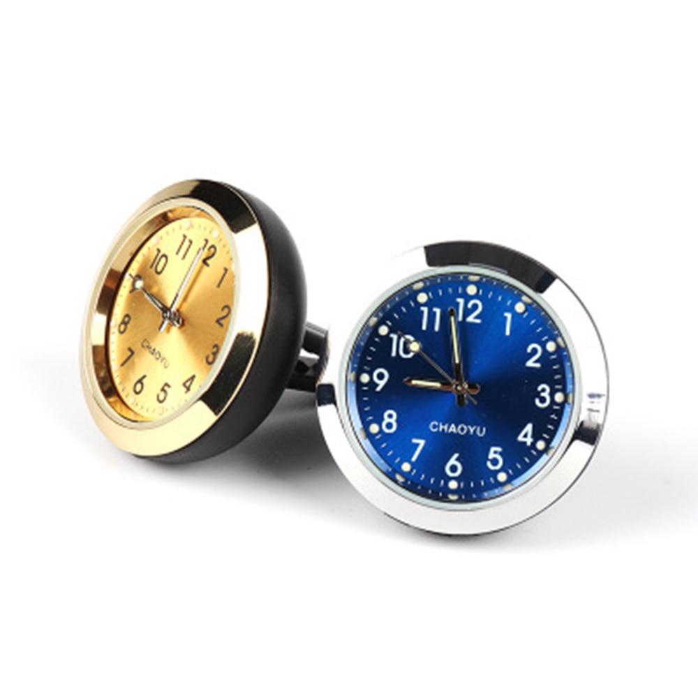 Auto Ornament Automotive Klok Auto-styling Horloge Interieur Decoratie Stick-On Ornamenten Accessoires