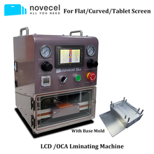 Novecel Q5 Portable OCA Vacuum Laminator For Less Than 11 Flat Screen , Curved Tablets Laminating Machine