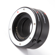 Glorystar 매크로 af 자동 초점 확장 튜브 10mm 16mm 링 파나소닉 올림푸스 4 thirds m43 마이크로 4/3 카메라 렌즈