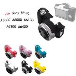 Чехол для Sony Alpha A5100 A5000 A6000 A6100 A6300 A6400, мягкий силиконовый резиновый чехол для камеры, защитный чехол