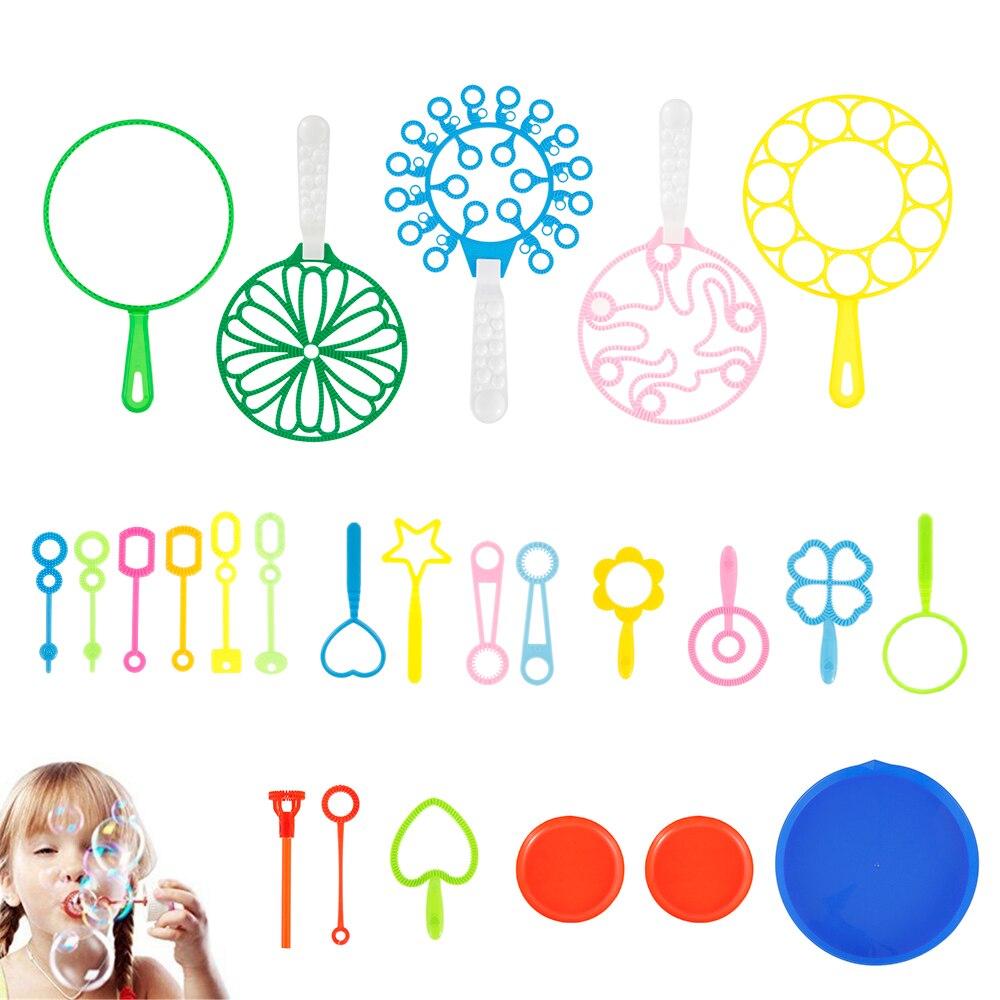 Bubble Maker Toy Set Outdoor Activity Fun Bubble Game Kids Favors Blowing Soap Bubble Blower Fan Machine Toy Children Gift