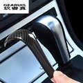 Auto Styling Carbon fiber Getriebe Shift Griff Hülse Aufkleber Abdeckung Trim Für BMW 5 series E60 X3 E83 6 serie e63 X5 E53 Zubehör