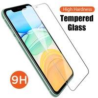 9H protector de pantalla de vidrio para iphone 7 7 6 6 plus SE 2020 de vidrio templado para iPhone XS Max s 6s 7s 8s 8 Plus X XR