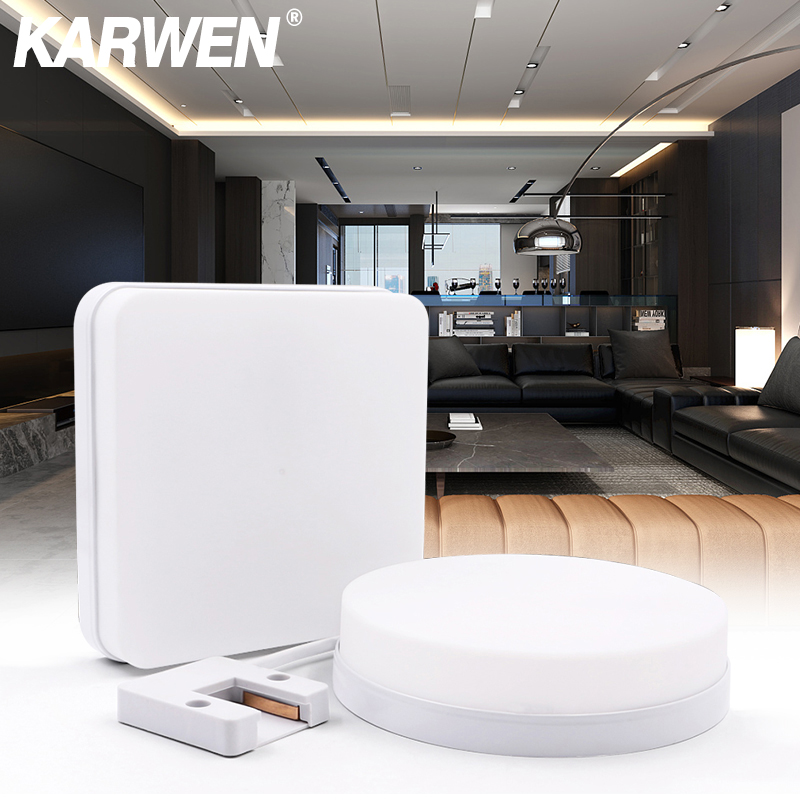 Ultra Thin LED Ceiling Lamp 18W 24W 36W 48W 85-265V LED Modern Panel Light Surface Mount Flush Panel Light For Bedroom Kitchen