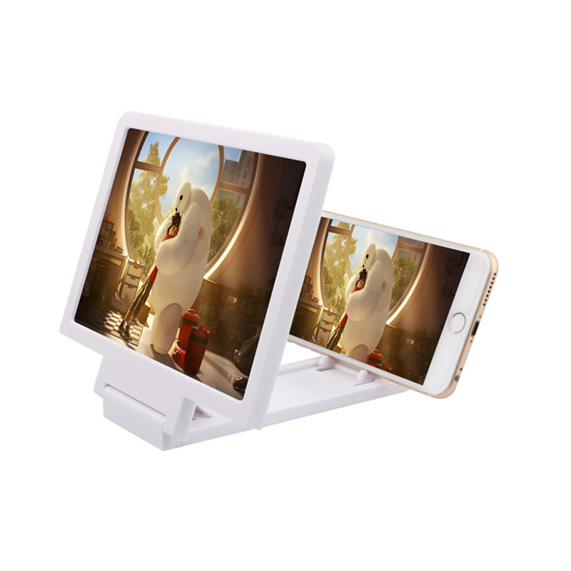 Mobile Phone Screen Magnify 3D Amplifier Magnifier Phone Video Display Folding Screen Enlarged Expander Eyes Protection Holder