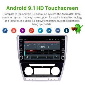Image 2 - Seicane 10,1 дюймовый Android 9,1 ОЗУ 2 Гб ПЗУ 32 ГБ для 2007 2011 2012 2013 2014 SKODA Octavia автомобильный GPS Радио Стерео головное устройство плеер
