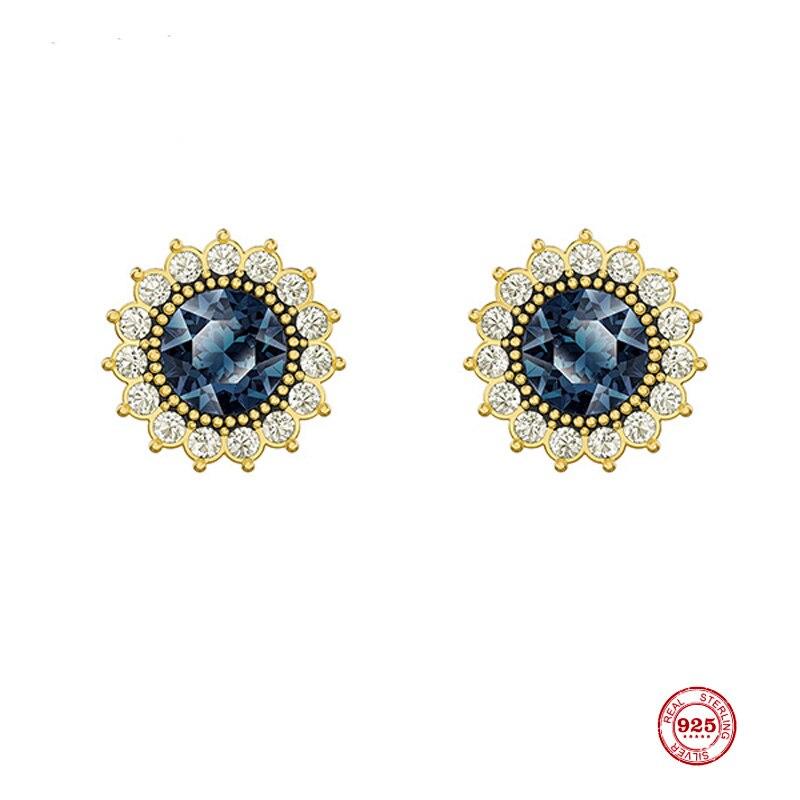 2020 Fashion Charm Sterling Silver Original 1:1 Replica, Vintage Blues Gorgeous Elegant...