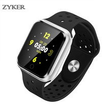 ZYKER Smart Watch Men and Women Heart Rate Monitor Smart Fitness Band Blood Pressure Pedometer For Android IOS Smart Watch New все цены