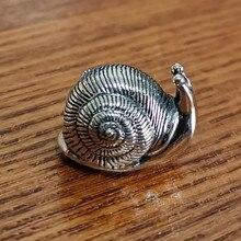925 пробы с омелом, серебряная подвеска в виде замка улитки, европейские ювелирные изделия
