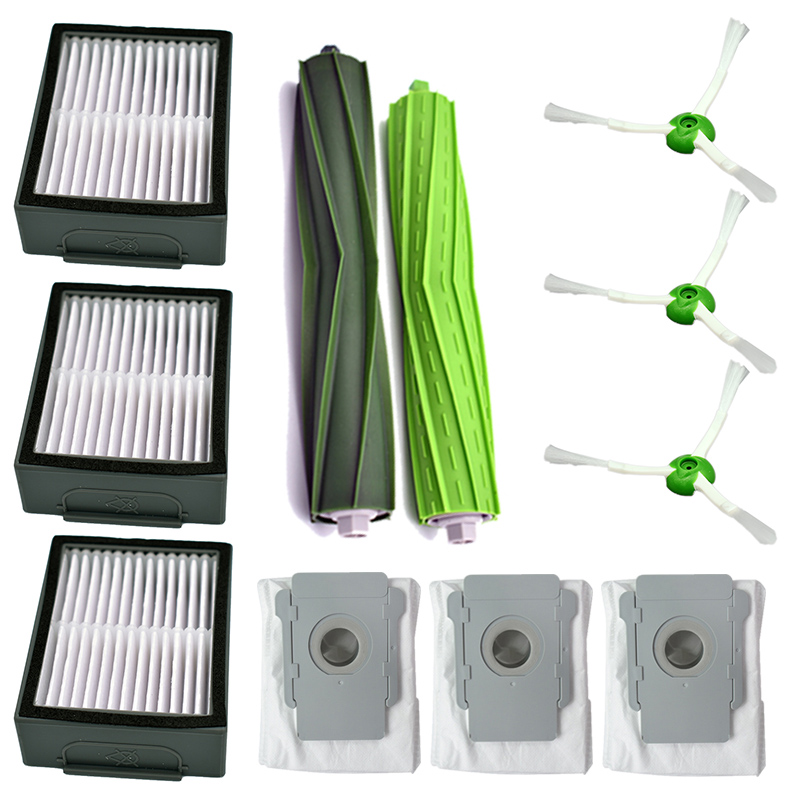 For iRobot Roomba i7 i7 i7 E5 E6 Series Filter kit Dust Bags Vacuum cleaner Replacement Part Cleaning in Cleaning Brushes from Home Garden