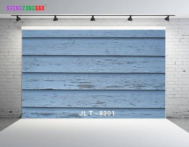 SHENGYONGBAO vinyle personnalisé photographie décors Prop bois thème numérique Photo Studio fond 9301