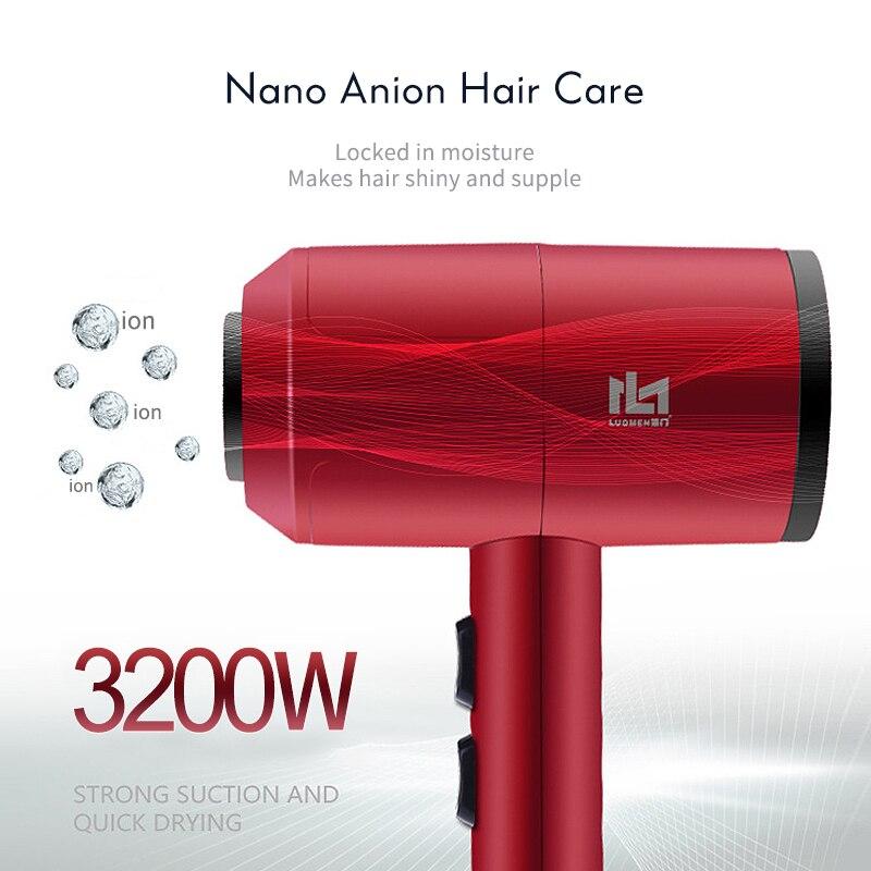 o secador de cabelo bonde ajustável do