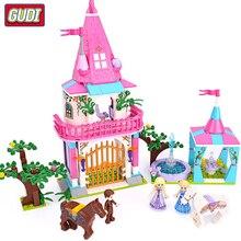цены Girl Friends Series Amusement Park Ferris Wheel Legoingly Blocks Bricks Playgame Toys for Children Toy Gifts