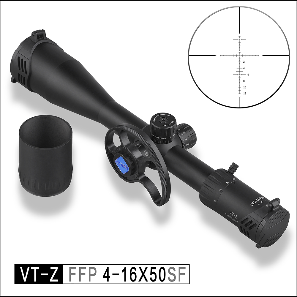 Discovery Optical Rifie Scope VT-Z 4-16X50 SF First Focus Zoom Cost-effective FFP Tactical Differentiation Hunting Sight