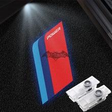 2X LED ترحيب أضواء لسيارات BMW F30 325i G20 F10 530i 525i G05 X5 ///M اللون السلطة تسجيل شبح الظل باب السيارة ثلاثية الأبعاد جهاز عرض ليزر