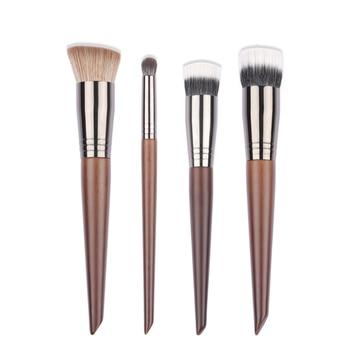 OVW NEW Foundation Brush Series Soft Duo Use Powder Liquid Brushes Concealer Blusher Cream Brushes Mask Brush 1PC 1
