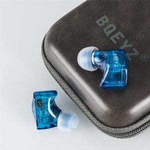 Image 3 - BQEYZ auriculares internos HiFi con 3 controladores híbridos, Auriculares Aislantes de ruido con Cable mejorado desmontable, IEM equilibrado