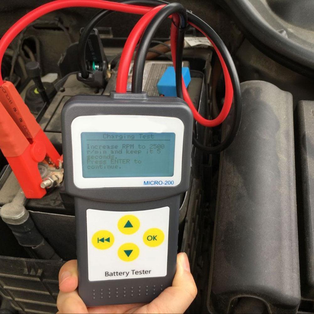 Automotive Car Battery Tester Digital CCA Battery Analyzer 12V Diagnostic Tool I88 #1