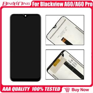 Image 5 - 100% Nieuwe Originele Voor Blackview A60/A60 Pro Lcd & Touch Screen Digitizer Met Frame Scherm Accessorie Montage vervanging