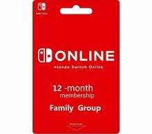 Switch Online Family  Suscripción de 12 Meses 1 Año